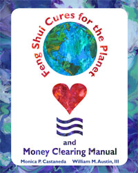 Energy Healing Art and Feng Shui Cures Book for Planet and Money